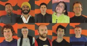 L'équipe - photos portraits - 20 ans