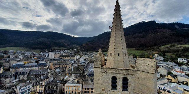 Travaux cathédrale de Mende