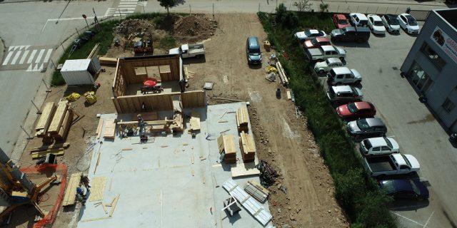 Construction bâtiment Cévennes Evasion