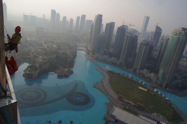 Préparation feux d'artifice Dubaï